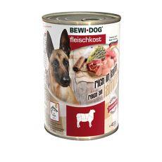 New BEWI DOG konzerva – Jehněčí, 400 g