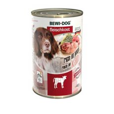 New BEWI DOG konzerva – Telecí, 400 g