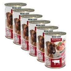 New BEWI DOG konzerva – Hovězí dršťky - 6 x 400 g, 5+1 GRATIS