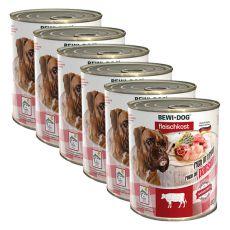 New BEWI DOG konzerva – Hovězí dršťky - 6 x 800 g