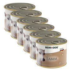 BEWI DOG Paté - Jehněčí - 6 x 200 g, 5+1 GRATIS