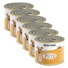 Bewi dog Paté – Krůta - 6 x 200 g, 5+1 GRATIS