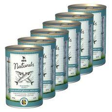 Bozita Naturals Mackerel - konzerva, 6 x 410 g