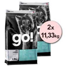 Petcurean GO! Fit + Free, Grain free - 2 x 11,33 kg