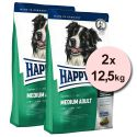 Happy Dog Supreme Fit and Well Adult Medium 2 x 12,5 kg