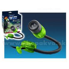 Hydor MULTI-LIGHT, LED bílé světlo - zelený kryt