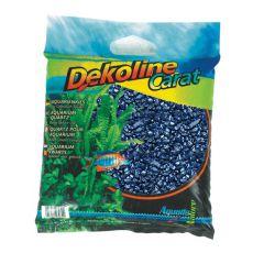 Akvarijní štěrk Dekoline Carat Metallic Blue - 5 kg