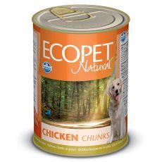 Farmina MO P ECOPET dog Chicken konzerva 1250 g