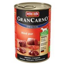 Konzerva GranCarno Original Adult hovězí maso - 400 g