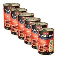 Konzerva GranCarno Original Adult hovězí maso - 6 x 400 g