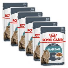 Royal Canin HAIRBALL CARE - kapsička 6 x 85g