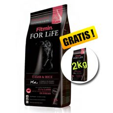Fitmin FOR LIFE Adult Lamb & Rice 15+2 kg ZDARMA