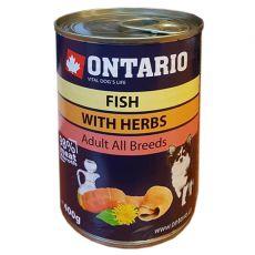 Konzerva ONTARIO Multi Fish a lososový olej – 400 g