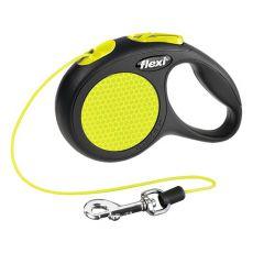 Flexi vodítko Neon XS do 8 kg  - 3m lanko