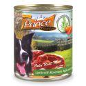 Konzerva PRINCE Premium - jehněčí s rozmarýnem, jablky a mrkví 800 g