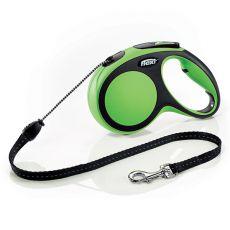 Flexi NEW COMFORT vodítko M do 20 kg, 5m lanko - zelené