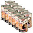 Krmivo CARNY ADULT hovězí + kuřecí maso -12 x 400 g