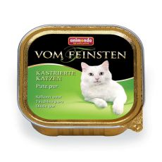 Animonda Vom Feinsten Castrated Cats - krůtí maso 100 g