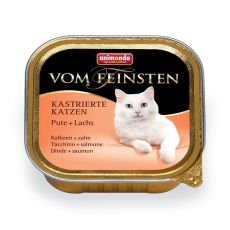Animonda Vom Feinsten Castrated Cats - krůta + losos 100 g