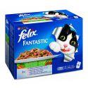 Felix Fantastic - masové a rybí variace se zeleninou, 12 x 100 g