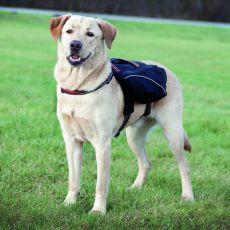 Postroj pro psy s batohem, L - XL - 31 x 17 cm