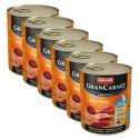 Konzerva GranCarno Fleisch Junior hovězí + kuře - 6 x 800 g
