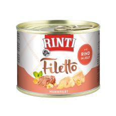 Rinti Filetto - kuřecí a hovězí maso v želé, 210 g