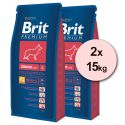 Brit Premium Senior Large 2 x 15 kg