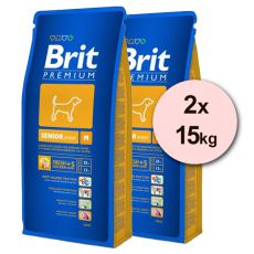 Brit Premium Senior Medium 2 x 15 kg