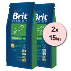 Brit Premium Senior XL – 2 x 15 kg