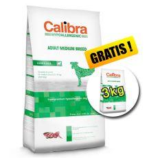 CALIBRA Dog HA Adult Medium Breed Lamb 14kg + 3kg ZDARMA