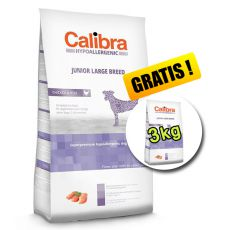 CALIBRA Dog HA Junior Large Breed Chicken 14kg + 3kg ZDARMA