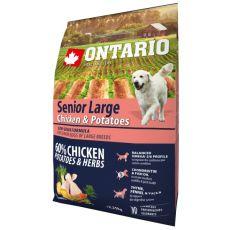 ONTARIO Senior Large – chicken & potatoes 2,25 kg