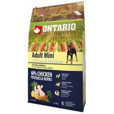ONTARIO Adult Mini – chicken and potatoes 6,5 kg