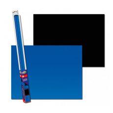Pozadí do akvária BLACK/BLUE XL - 150 x 60 cm