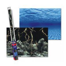 Pozadí do akvária ROOTS/WATERS L - 100 x 50 cm