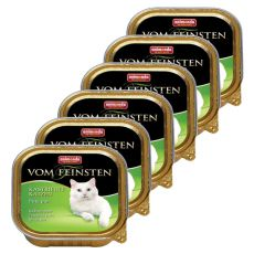 Animonda Vom Feinsten Castrated Cats - krůtí maso, 6 x 100g