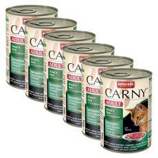 Krmivo CARNY ADULT hovězí, srnec a brusinky - 6 x 400 g