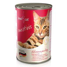 Konzerva BEWI CAT Meatinis DRŮBEŽ, 400 g