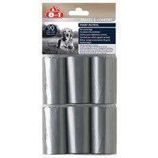 8in1 Náhradní sáčky na odpad – 6 x 15 ks