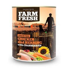Farm Fresh – Chicken and Herring with Cranberries 800 g