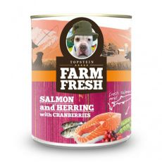 Farm Fresh – Salmon and Herring with Cranberries 375 g