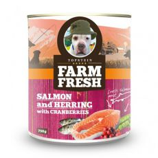Farm Fresh – Salmon and Herring with Cranberries 750 g