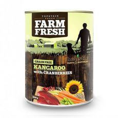 Farm Fresh - Kangaroo with Cranberries 400 g