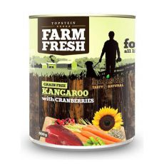 Farm Fresh - Kangaroo with Cranberries 800 g
