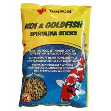 TROPICAL Koi & Goldfish spirulina sticks 1l/90 g