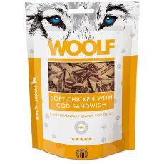 WOOLF Soft Chicken with Cod Sandwich 100 g