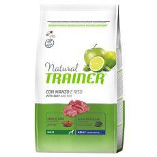 Trainer Natural Adult Maxi, hovězí a rýže 12 kg