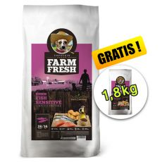 Farm Fresh Fish Sensitive Large Breed GF 15 + 1,8kg GRATIS
