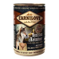 BRIT Carnilove Wild Meat Venison & Reindeer 400 g